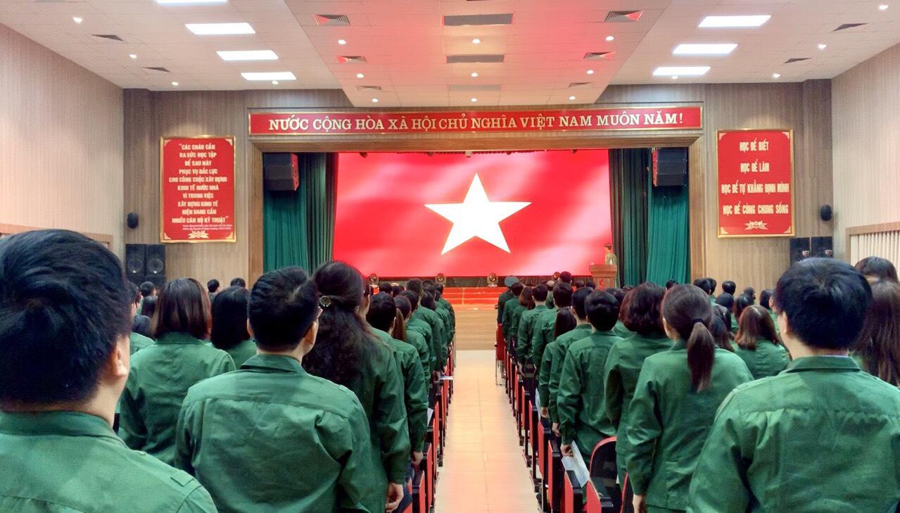 Kết quả học tập GDQP&AN hệ ĐH K14, Trường Đại học Công nghiệp Hà Nội (Đợt 7) năm học 2019-2020