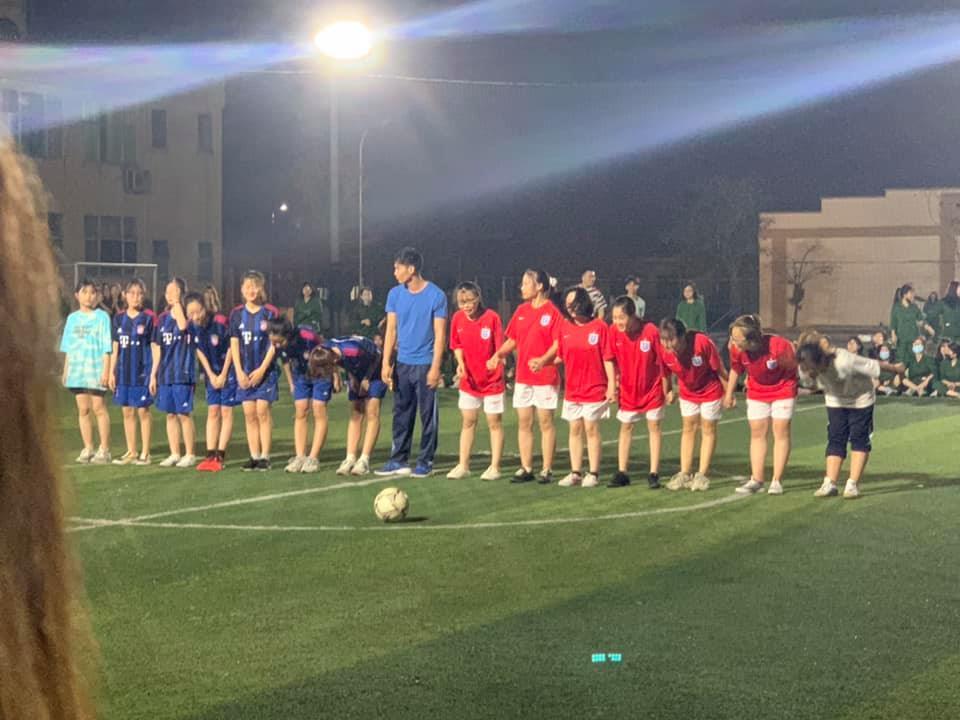 Khai mạc Giải Bóng đá Nam, Nữ sinh viên Đại học Kinh tế Quốc dân học Giáo dục Quốc phòng và An ninh tại Hà Nam